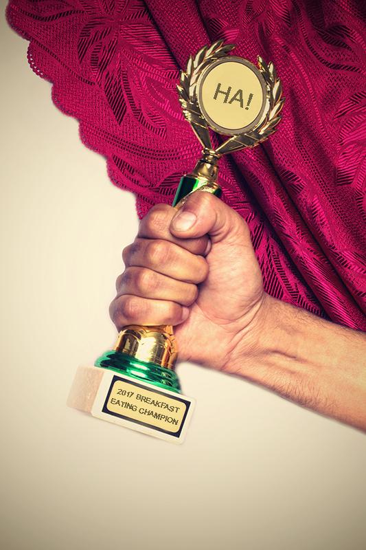 Breakfast trophy